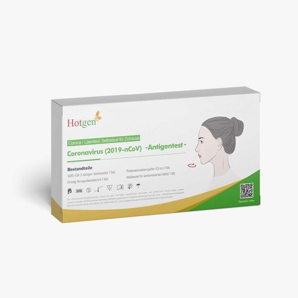 HOTGEN Covid-19 Nasal Antigen Laientest Selbsttest